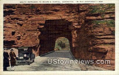 Boones Tunnel South Entrance - Lexington, Kentucky KY Postcard