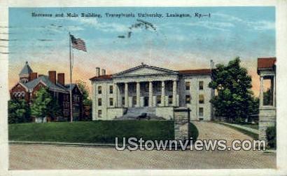 Transylvanian University - Lexington, Kentucky KY Postcard