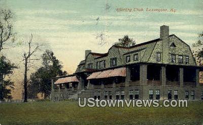 Country Club - Lexington, Kentucky KY Postcard