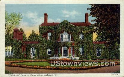 Ashland  - Lexington, Kentucky KY Postcard