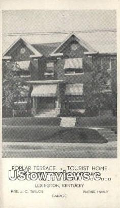 Poplar Terrace - Lexington, Kentucky KY Postcard
