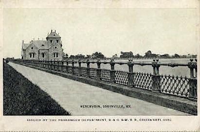 Reservoir - Louisville, Kentucky KY Postcard