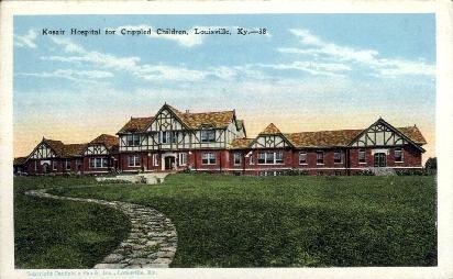 Kosair Hospital for Crippled Children - Louisville, Kentucky KY Postcard
