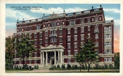 Baptist Hospital - Louisville, Kentucky KY Postcard