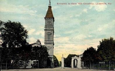 Cave Hill Cemetery - Louisville, Kentucky KY Postcard