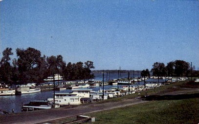 Ohio River - Louisville, Kentucky KY Postcard