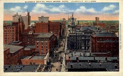 Brown Hotel - Louisville, Kentucky KY Postcard