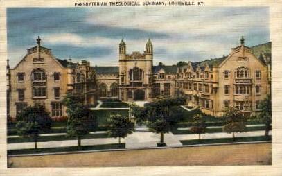 Presbyterian Theological Seminary - Louisville, Kentucky KY Postcard