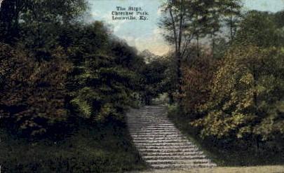 Cherokee Park - Louisville, Kentucky KY Postcard