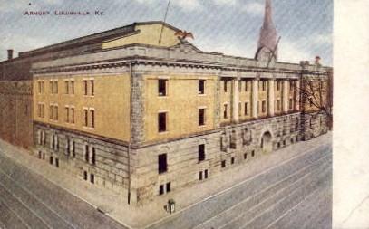 Armory - Louisville, Kentucky KY Postcard