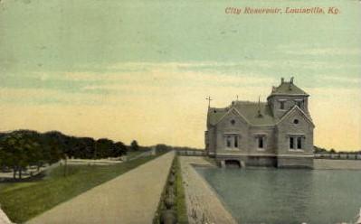 City Reservoir - Louisville, Kentucky KY Postcard