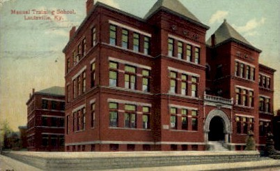 Manual Training High School - Louisville, Kentucky KY Postcard
