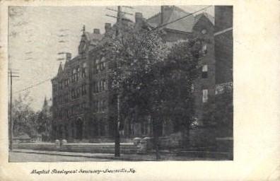 Baptist Theological Seminary - Louisville, Kentucky KY Postcard
