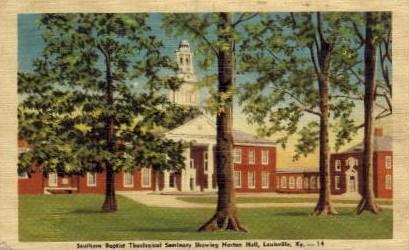 Southern Baptist Theological Seminary - Louisville, Kentucky KY Postcard