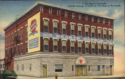 Heart of Louisville - Kentucky KY Postcard
