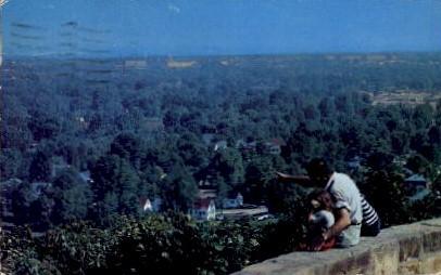 Iroquois Park Hill - Louisville, Kentucky KY Postcard