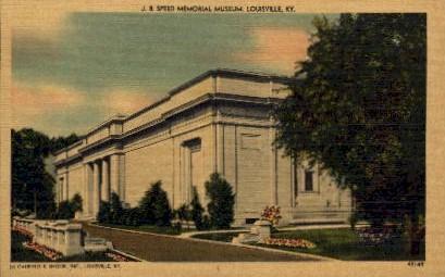 J.B. Speed Memorial Museum - Louisville, Kentucky KY Postcard
