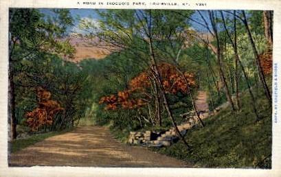 Iroquois Park  - Louisville, Kentucky KY Postcard