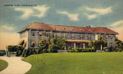 Country Club - Louisville, Kentucky KY Postcard