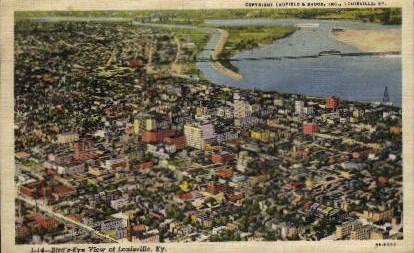 Bird's-Eye View - Louisville, Kentucky KY Postcard