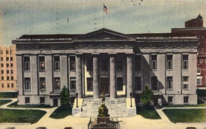 Jefferson County Courthouse - Louisville, Kentucky KY Postcard