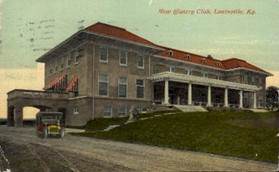 New Country Club - Louisville, Kentucky KY Postcard