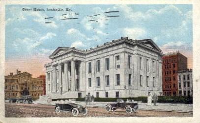 Court House - Louisville, Kentucky KY Postcard