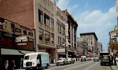 Fourth Street - Louisville, Kentucky KY Postcard