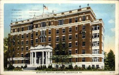 KY Baptist Hospital - Louisville, Kentucky KY Postcard