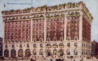 The Seelbach - Louisville, Kentucky KY Postcard