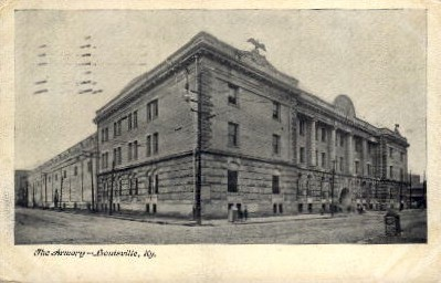 The Armory - Louisville, Kentucky KY Postcard