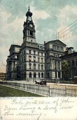 Custom House - Louisville, Kentucky KY Postcard