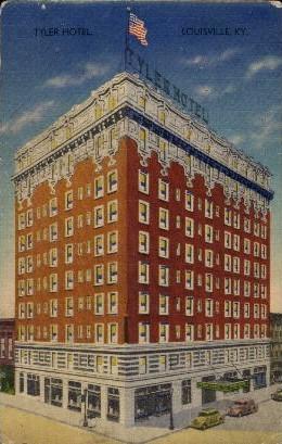 Tyler Hotel - Louisville, Kentucky KY Postcard