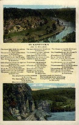 In Kentucky - Misc Postcard