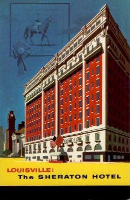 The Sheraton Hotel - Louisville, Kentucky KY Postcard