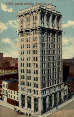 Lincoln Building - Louisville, Kentucky KY Postcard