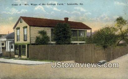 Mrs Wiggs Of The Cabbage Patch - Louisville, Kentucky KY Postcard