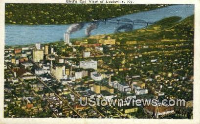 View - Louisville, Kentucky KY Postcard