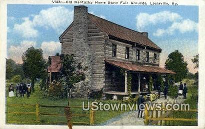 Old Kentucky Home State Fair Grounds - Louisville Postcard