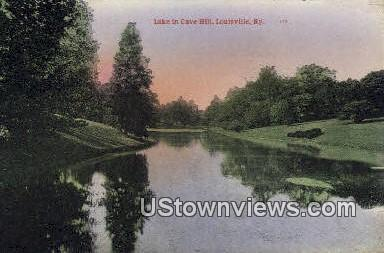 Lake In Cave Hill - Louisville, Kentucky KY Postcard