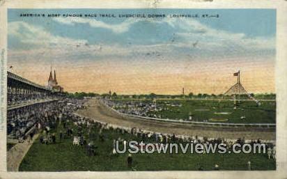 Churchill Downs - Louisville, Kentucky KY Postcard