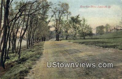 River View Drive - Louisville, Kentucky KY Postcard