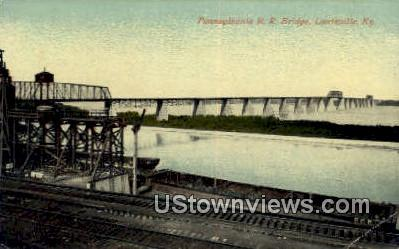 Rr Bridge - Louisville, Kentucky KY Postcard