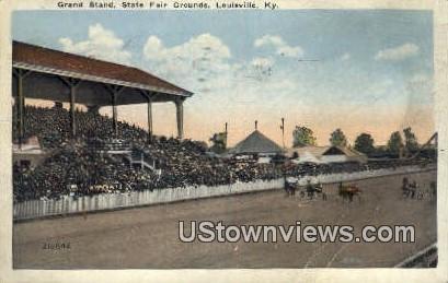 Grand Stand Fair Grounds - Louisville, Kentucky KY Postcard