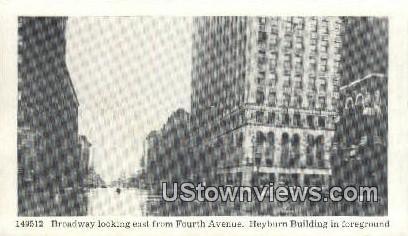 Broadway Flooded 1937 - Louisville, Kentucky KY Postcard
