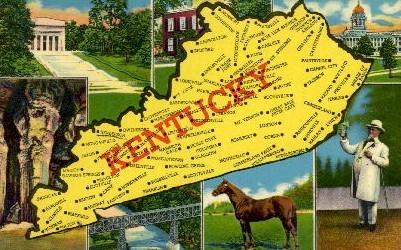 Kentucky - Misc Postcard