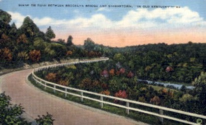 In Old Kentucky - Misc Postcard
