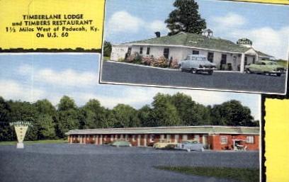 Timberlane Lodge - Paducah, Kentucky KY Postcard