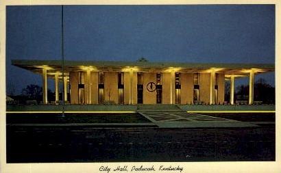 City Hall - Paducah, Kentucky KY Postcard