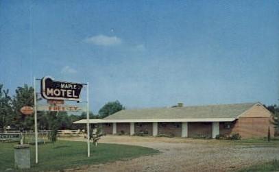 Maple Motel - Paducah, Kentucky KY Postcard